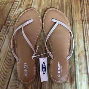 Old Navy Ballet Pink Thong Sandals